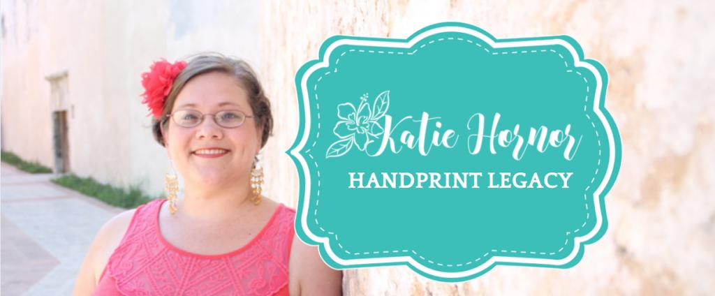 katie hornor handprint legacy