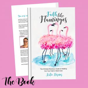 faith like flamingos book by Katie Hornor